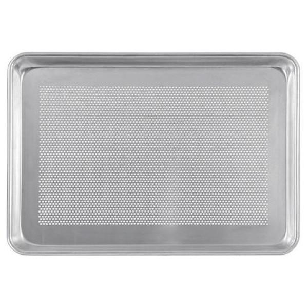 Sanal Fırın - Pastane ve Fırıncılık Malzemeleri AL METAL TEFLONSUZ DELİKLİ ALUMİNYUM DÖNER FIRIN TAVASI TAVASI 1.5 MM 60X80 CM