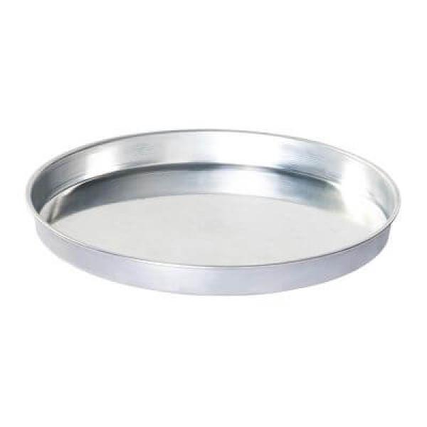 Sanal Fırın - Pastane ve Fırıncılık Malzemeleri AL METAL ALAMİNYUM YUVARLAK BAKLAVA TEPSİSİ 38 CM