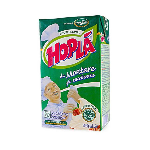 Sanal Fırın - Pastane ve Fırıncılık Malzemeleri ŞEKERLİ HOPLA ŞANTİ 1 LT