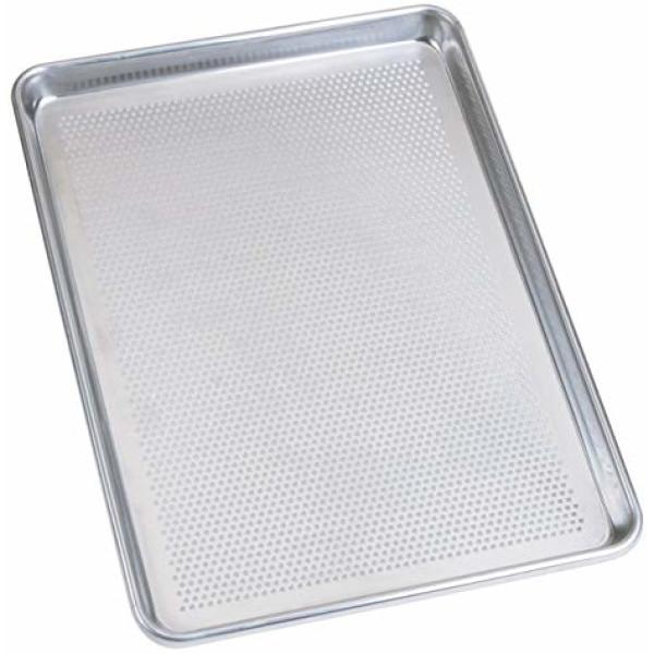 Sanal Fırın - Pastane ve Fırıncılık Malzemeleri AL METAL TEFLONSUZ İTALYAN AÇILI ALUMİNYUM TAVA 2 MM 60X80 CM