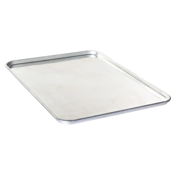 Sanal Fırın - Pastane ve Fırıncılık Malzemeleri AL METAL TEFLONSUZ DÜZ ALUMİNYUM SİMİTÇİ FIRIN TAVASI TAVASI 40X80 CM