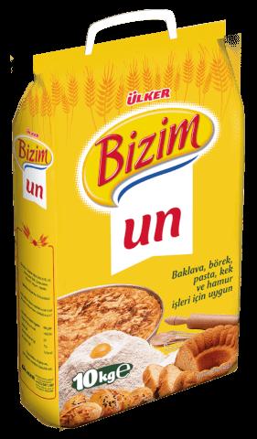 Sanal Fırın - Pastane ve Fırıncılık Malzemeleri BİZİM MUTFAK UN 10 KG