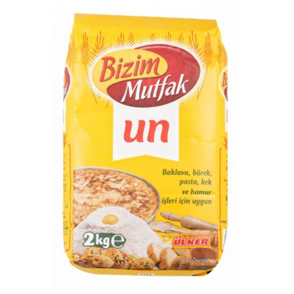 Sanal Fırın - Pastane ve Fırıncılık Malzemeleri BİZİM MUTFAK UN 2 KG