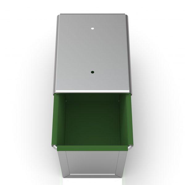 Sanal Fırın - Pastane ve Fırıncılık Malzemeleri 11x11x16 CM KLÜP- ÇAVDAR TOST TAVASI  (Teflon Kaplama)