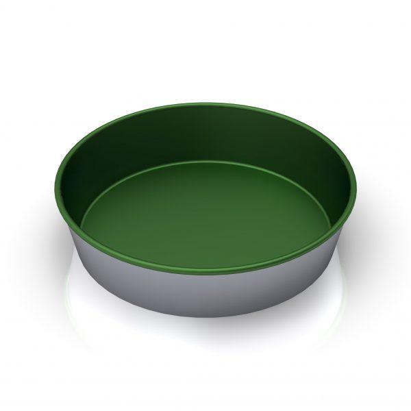 Sanal Fırın - Pastane ve Fırıncılık Malzemeleri MISIR EKMEĞİ TAVASI 16X3 CM (Teflon Kaplam)