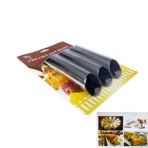 Sanal Fırın - Pastane ve Fırıncılık Malzemeleri CRC03 3LÜ DÜZ KORNE KALIBI