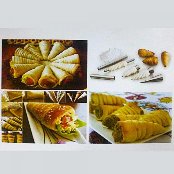 Sanal Fırın - Pastane ve Fırıncılık Malzemeleri KORNE KALIBI 3,5 *12,5 CM