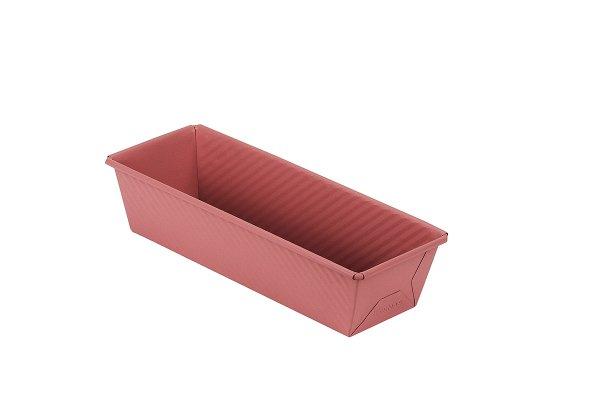 Sanal Fırın - Pastane ve Fırıncılık Malzemeleri 10x7x30 CM KAPAKSIZ EKMEK KALIBI (Rose)