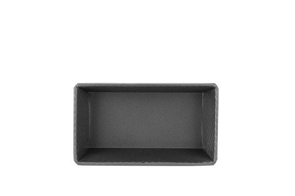 Sanal Fırın - Pastane ve Fırıncılık Malzemeleri 13x7x24 CM KAPAKSIZ EKMEK KALIBI (Gümüş)