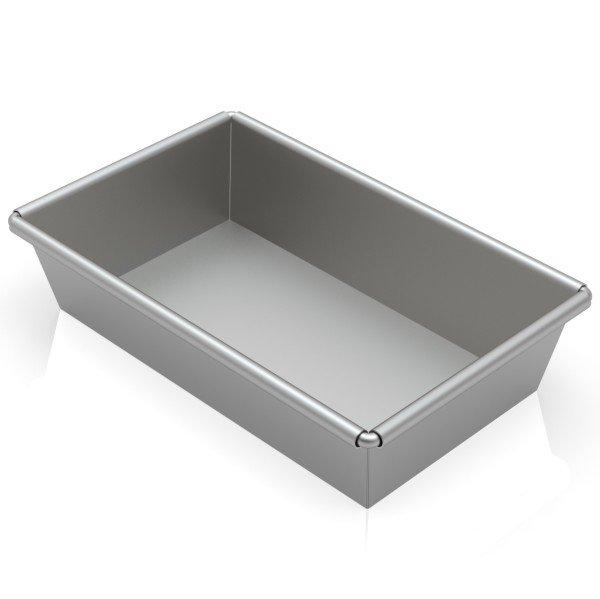 Sanal Fırın - Pastane ve Fırıncılık Malzemeleri 15x25x6,5 CM KAYIK EKMEK TAVASI KAPLAMASIZ