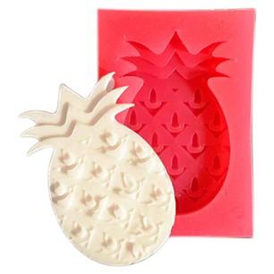 Sanal Fırın - Pastane ve Fırıncılık Malzemeleri CESİL SİLİKON KALIP - ANANAS (5*3 CM) 33089