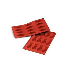 Sanal Fırın - Pastane ve Fırıncılık Malzemeleri SİLİKOMART SILICONE MOULD N.9 OVALS - SF039