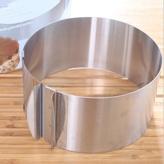 Sanal Fırın - Pastane ve Fırıncılık Malzemeleri AYARLANABİLEN YUVARLAK PANDİSPANYA KALIBI