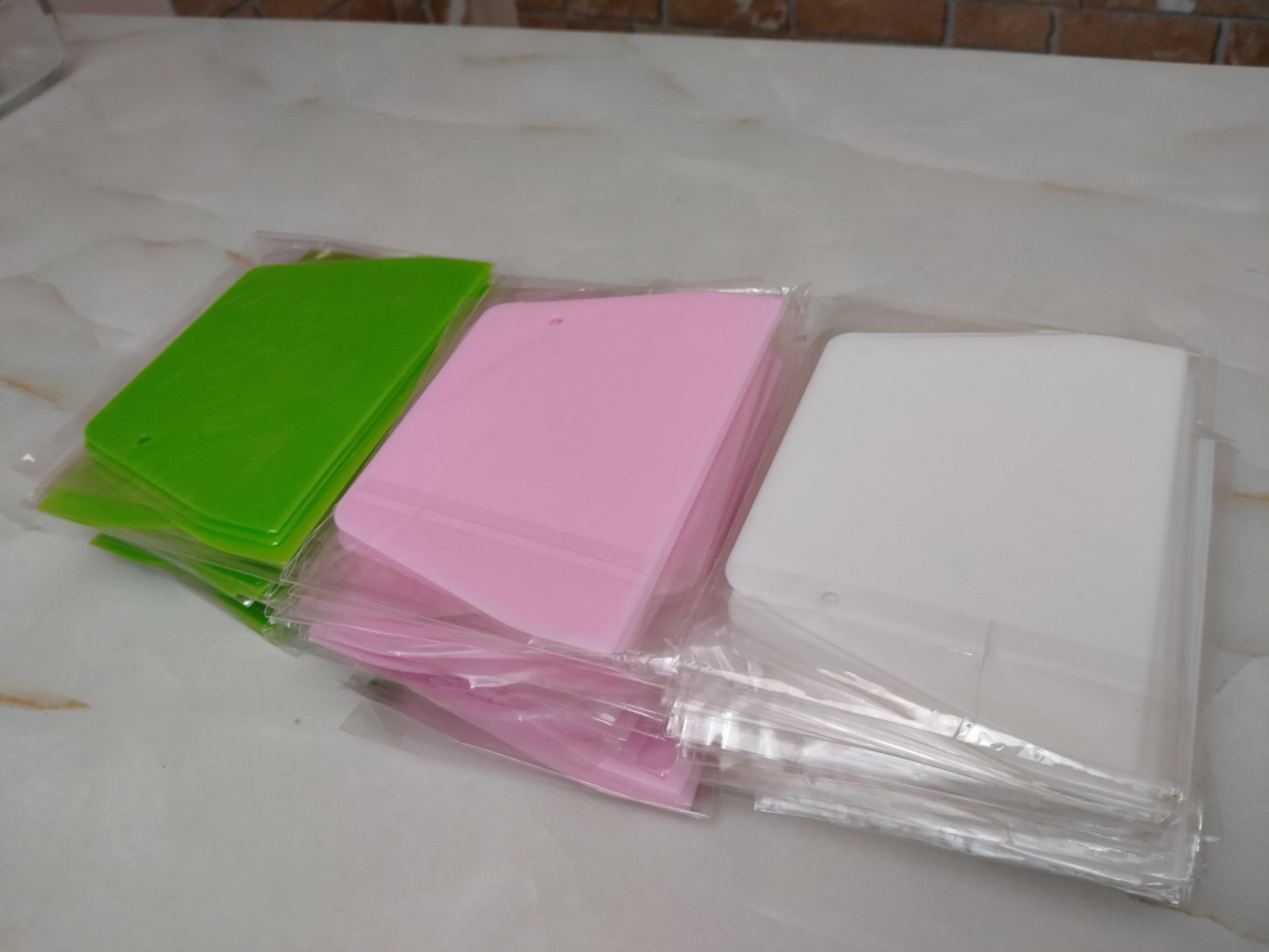 Sanal Fırın - Pastane ve Fırıncılık Malzemeleri PLASTİK HAMUR KESKİSİ (Yeşil)