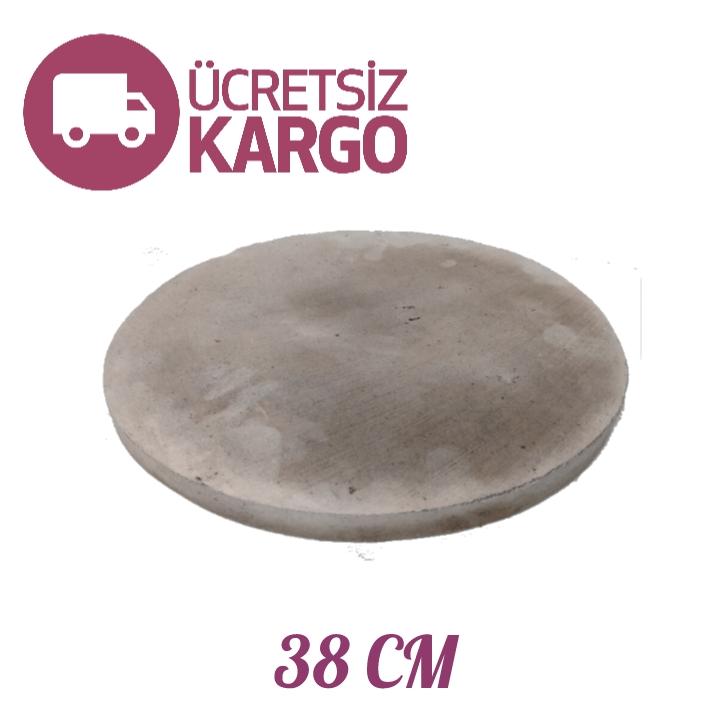 Sanal Fırın - Pastane ve Fırıncılık Malzemeleri ORGANİK YUVARLAK PİZZA & PİDE TAŞI 38 CM